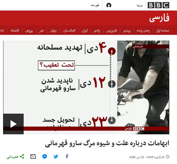 استفاده ابزاری بیبیسی از تروریستها برای داغ نگهداشتن اغتشاشات + عکس