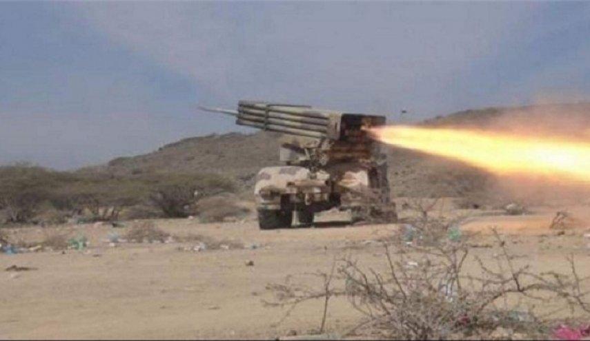 حمله موشکی نیروهای یمنی به مواضع مزدوران سعودی