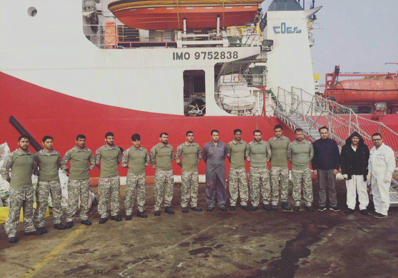 بازگشت تکاوران نیروی دریایی ارتش از چین