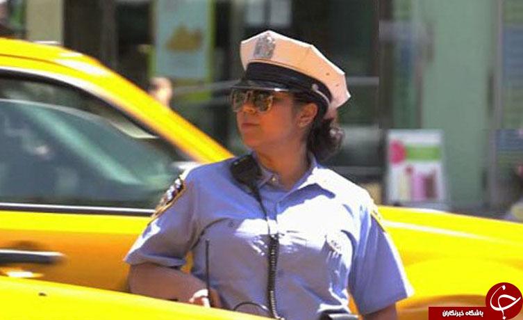 حرکت عجیب  پلیس زن با راننده گستـاخ! + تصاویر