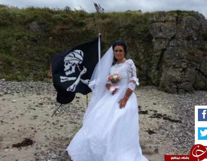 ازدواج زن ایرلندی با یک روح خبرساز شد! تصاویر