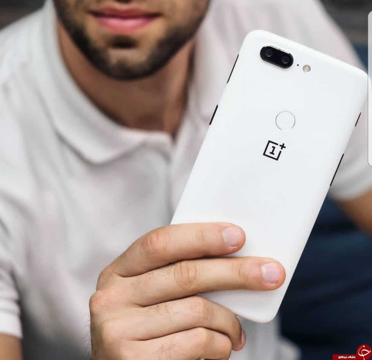 نسخه سفید رنگ OnePlus 5T زیباترین نسخه این گوشی + تصاویر