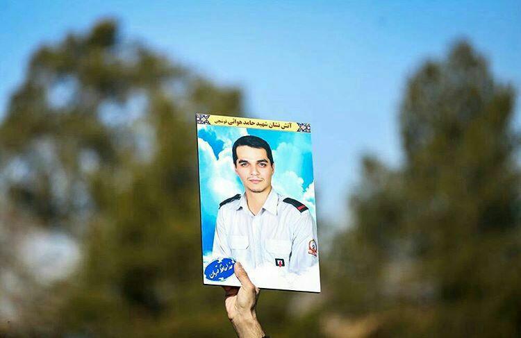شهید آتش نشانی که برات شهادتش را در کربلا گرفت