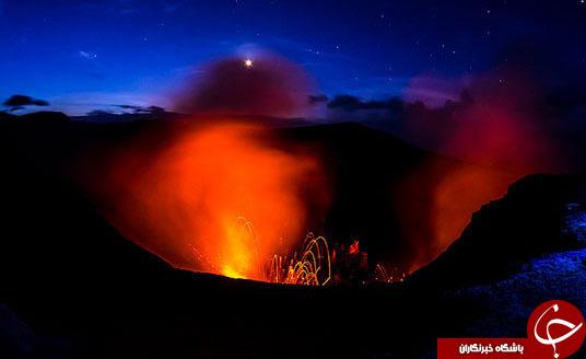 با شگفت انگیزترین آتشفشان های دنیا آشناشوید+ تصاویر