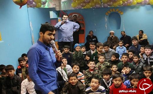 برپایی جشن تولد ویژه فرزندان لاله های مدافع حرم در قم