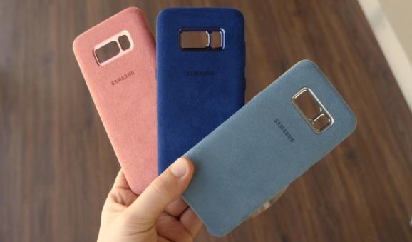 رویت لوازم جانبی گلکسی S9 و گلکسی+S9 در یک خرده فروشی آنلاین