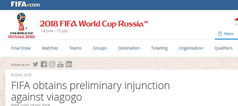 فروش غیرقانونی بلیت های جام جهانی فاش شد