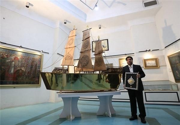 همه واقعیتهای «کشتی مطلا»/ چه مقدار طلا در ساخت کشتی بهکار رفته است؟