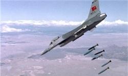 آغاز حملات هوایی ارتش ترکیه به مواضع کُردها در عفرین