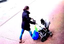 گذر مرگ از بیخ گوش یک مادر و نوزاد+فیلم