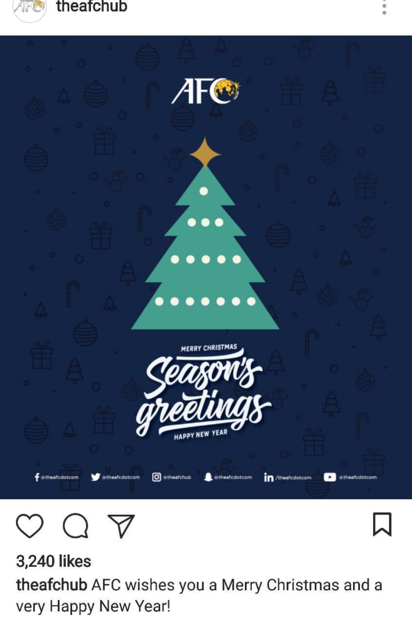 تبریک ورزشکاران جهان به مناسبت کریسمس + تصاویر