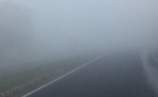 نمایی از مه صبحگاهی در چابهار + فیلم