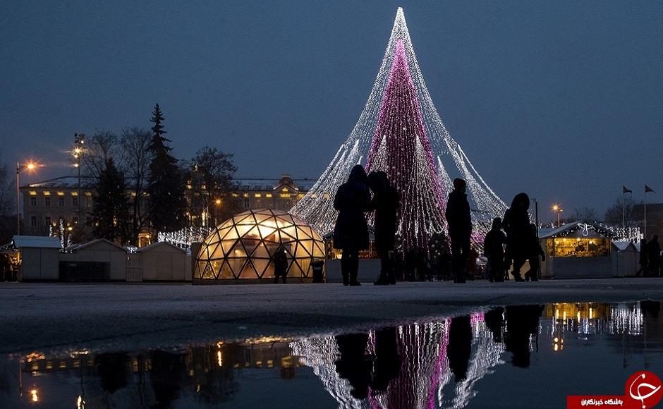 جشن کریسمس در کشورهای مختلف جهان+ تصاویر