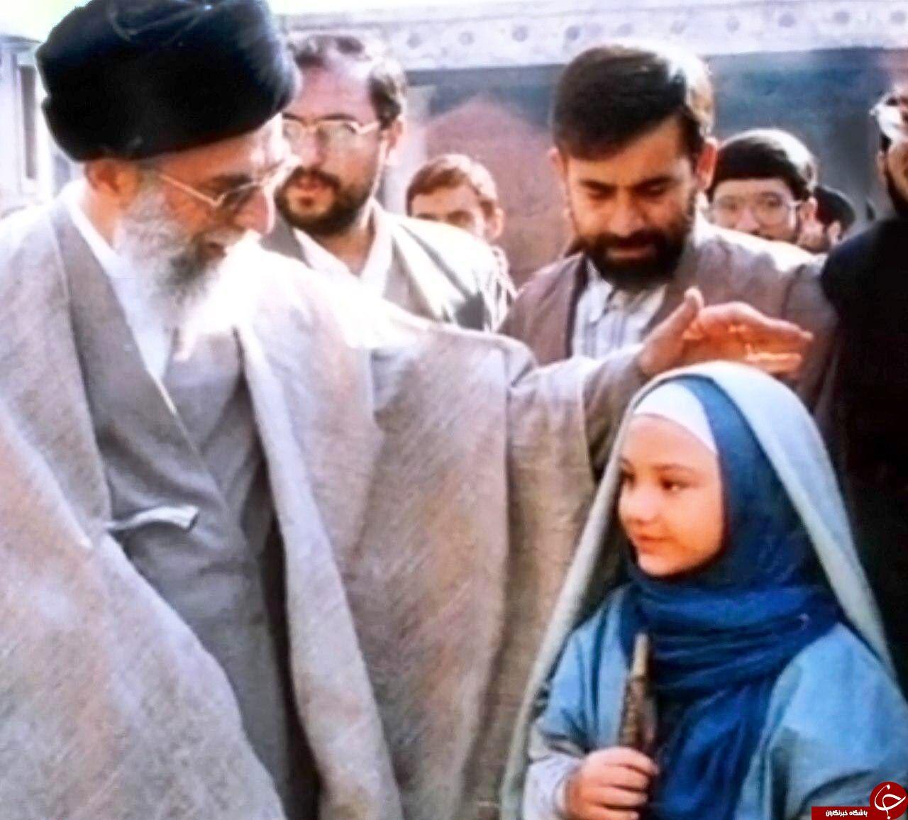 تصاویر بازدید رهبر انقلاب از پشت صحنه مریم مقدس