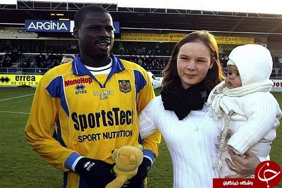 فوتبالیست ثروتمندی که یک زن او را کارتن خواب کرد +تصاویر