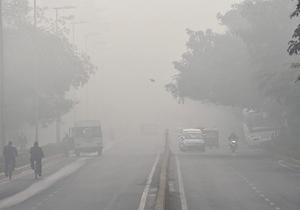 اقدام دسته جمعی دانش آموزان در اعتراض به آلودگی هوا+فیلم