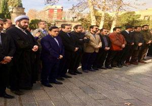 مراسم تشییع پیکر دیپلمات شهید «حمیدرضا محمدیان» برگزار شد
