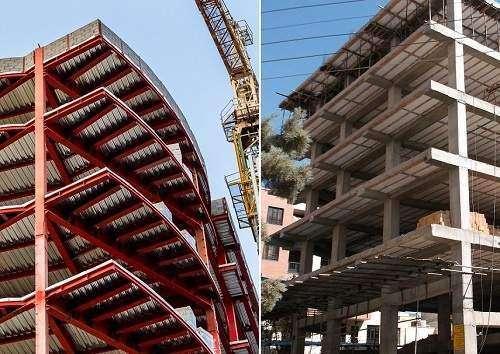 هنگام وقوع زلزله، ساختمان بتنی مستحکمتر است یا اسکلت فلزی؟ + صوت
