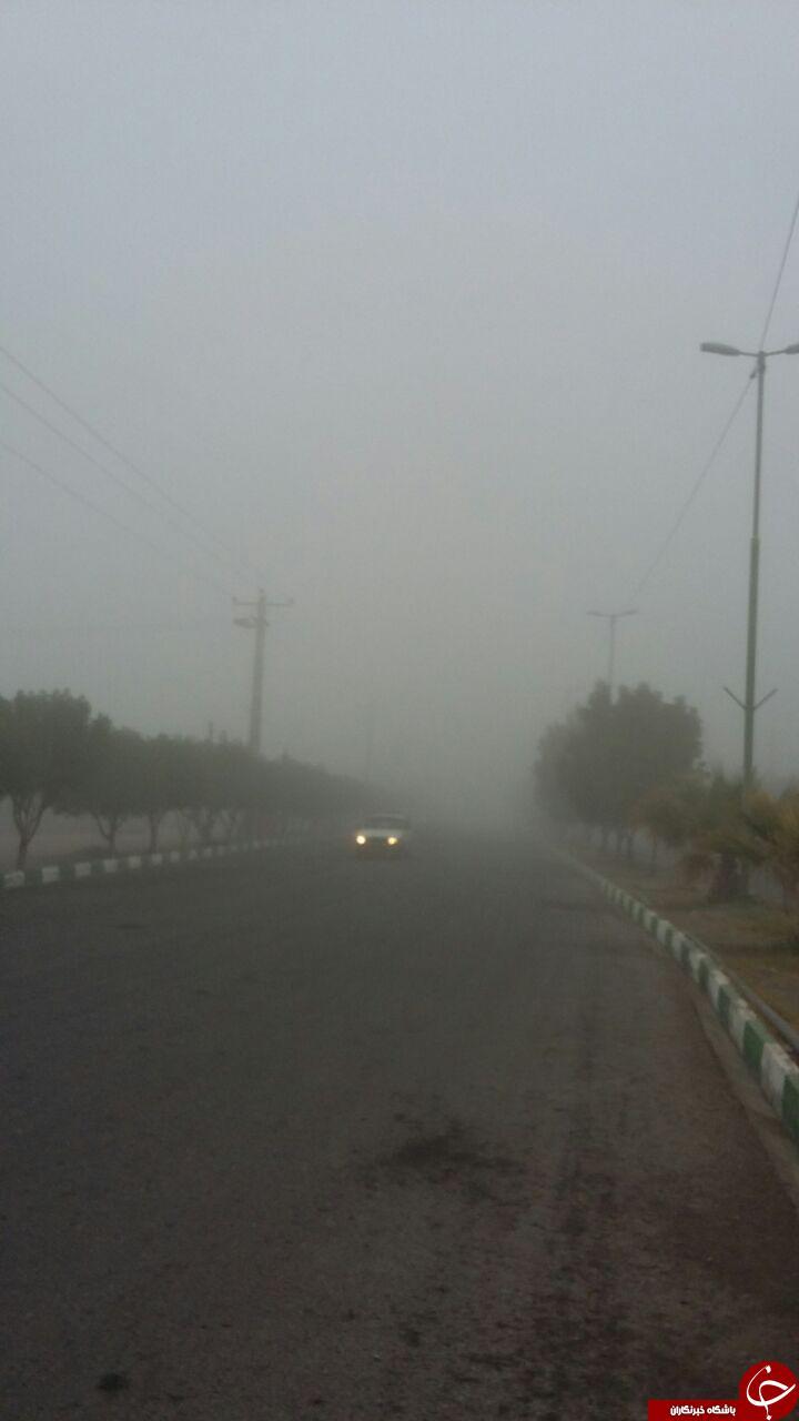 «هشتبندی» در مه غرق شد + تصاویر