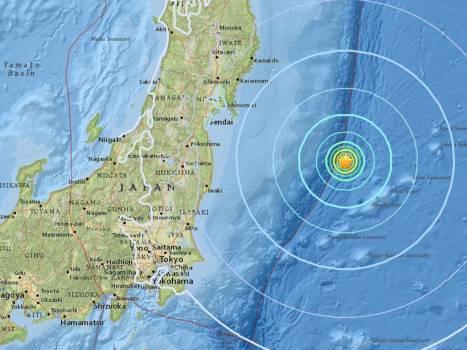 زلزله دو دقیقه ای ۹ ریشتری در ژاپن + فیلم