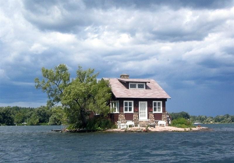 کوچکترین جزیره مسکونی جهان کجاست؟+ تصاویر
