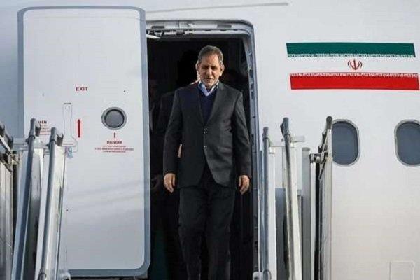 ورود معاون اول رئیسجمهور به مشهد