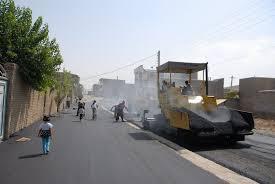 آغاز مرمت خیابان های سرابله