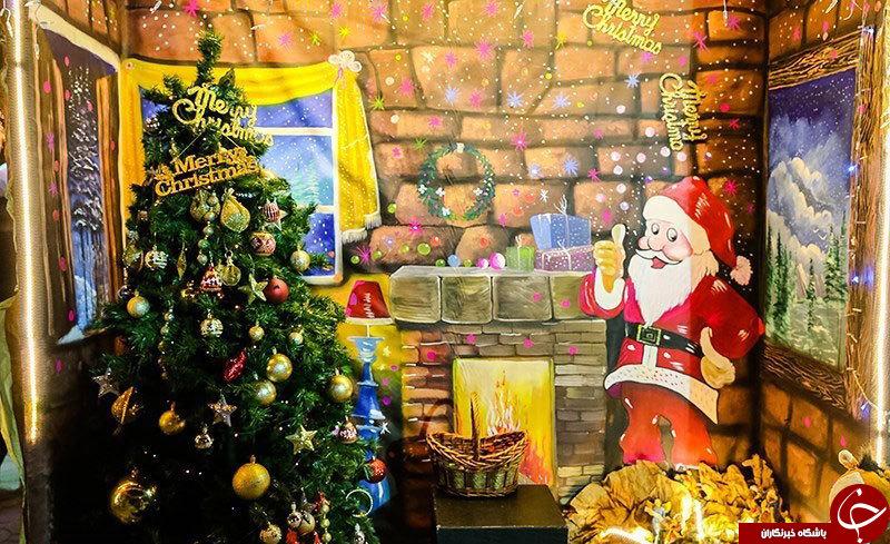 کریسمس در بحرانیترین کشور جهان+تصاویر