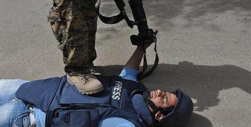 نظامیان اسرائیلی تا کنون بیش از 100 خبرنگار را مجروح کردند