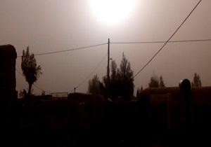 نمایی از گرد و غبار در نقطه صفر مرزی + فیلم