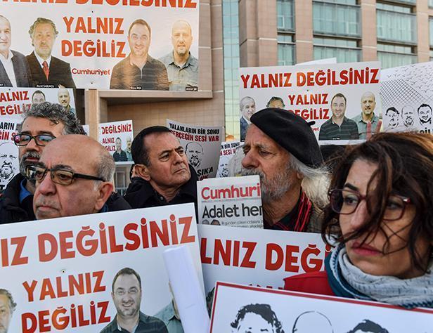 درخواست سازمان امنیت و همکاری اروپا از ترکیه برای آزادی خبرنگاران زندانی