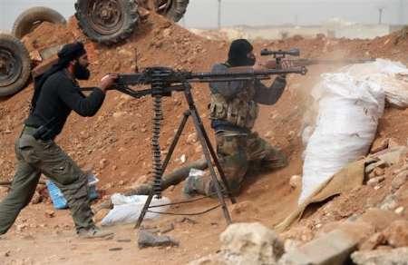 درگیری تروریستها در حومه غربی حماه