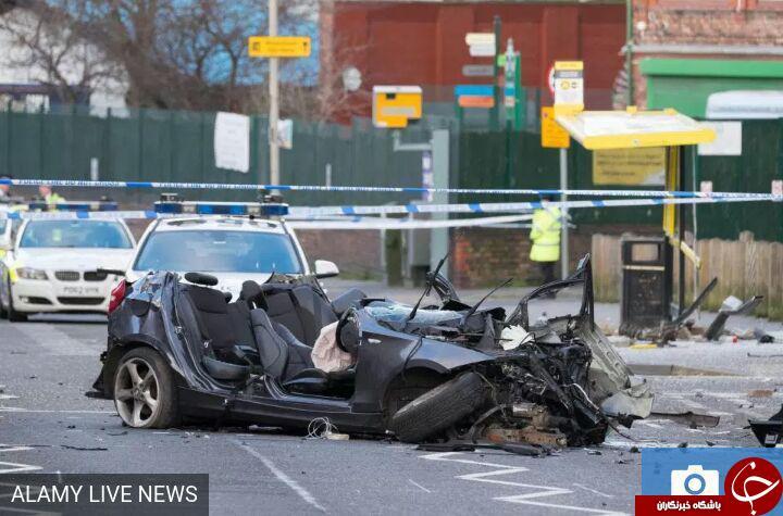 فرار راننده BMW، جان مسافر بیگناه را گرفت+ تصاویر