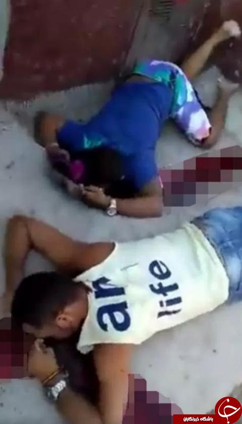 حمله مرگبار مرد مسلح به یک زمین فوتبال + تصاویر