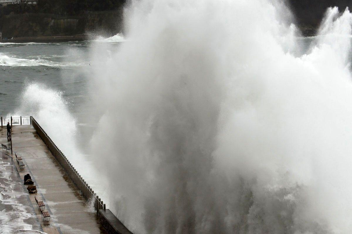 دو کشته در پی عبور طوفان شدید برونو از اسپانیا