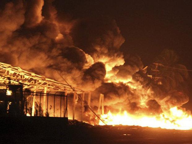 انفجار در بزرگترین پالایشگاه نفت ونزوئلا