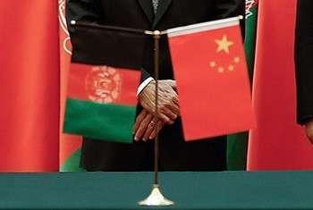 تمایل پکن برای توسعه روابط نظامی با افغانستان