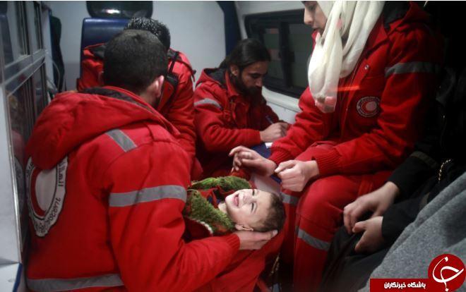 تصاویر روز: از مداوای کودک زخمی در سوریه تا درگیری فلسطینی ها با نیروهای امنیتی رژیم صهیونیستی