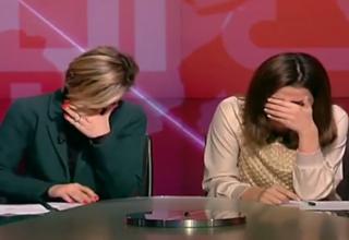 علت خنده ناگهانی گویندگان خبر در پخش زنده چه بود؟+فیلم
