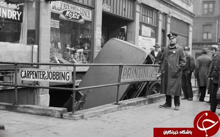 تصادفات در 100 سال پیش چگونه بود؟+ تصاویر