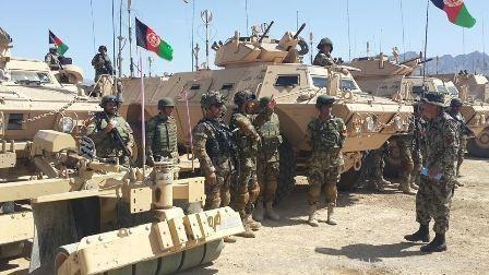 آغاز عملیات زمستانی ارتش علیه گروههای تروریستی در شمال افغانستان