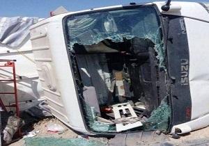 سقوط خودرو از روی پل در محور همدان بیجار
