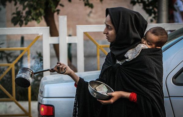 متکدیان زمستانه کرمان/مهاجرت به قصد تکدی گری