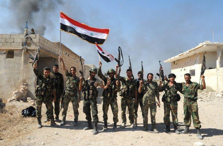 تسلط ارتش سوریه بر حومه ادلب/ انتقال ترورزیستها با بالگردهای آمریکایی