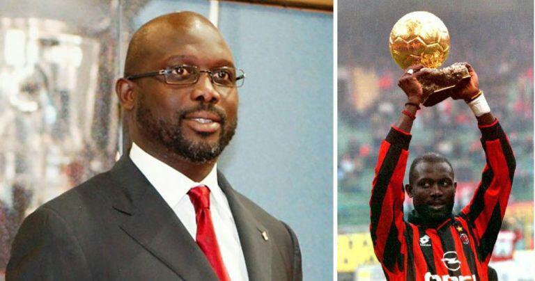 ستاره سابق فوتبال جهان رسما رئیسجمهور لیبریا شد
