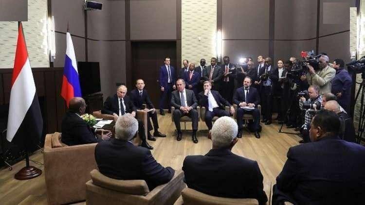 دیدار مقامات دفاعی روسیه و سودان