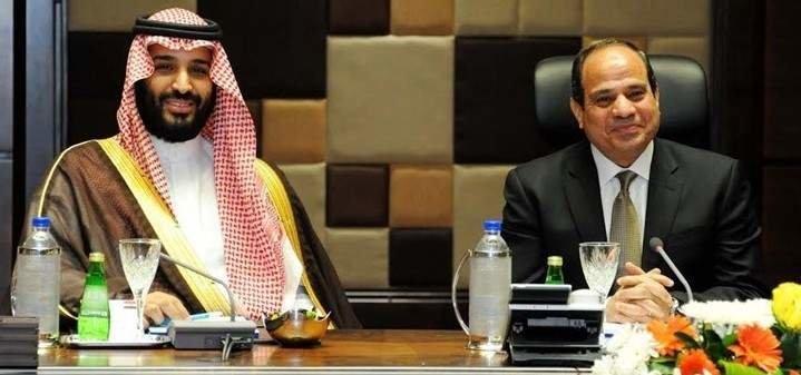گفتگوی تلفنی رییس جمهور مصر و ولیعهد عربستان
