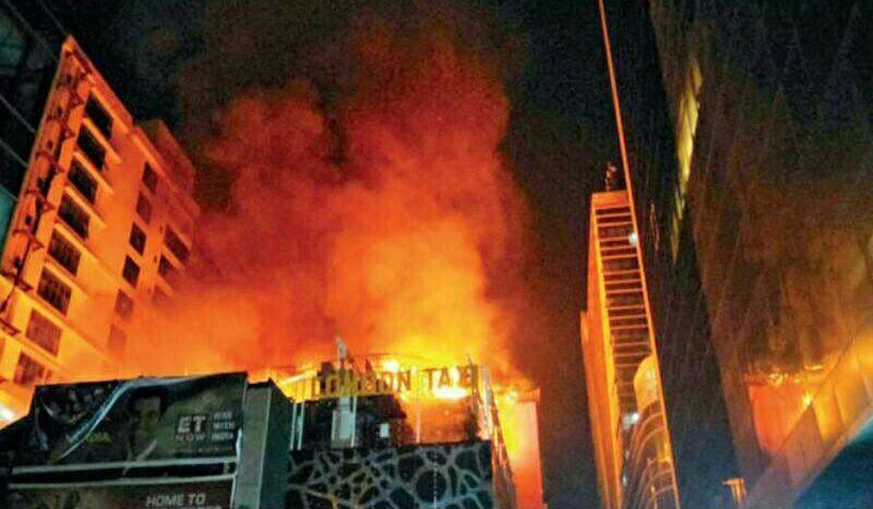 آتشسوزی مهیب در بمبئی 14 نفر را به کام مرگ فرستاد