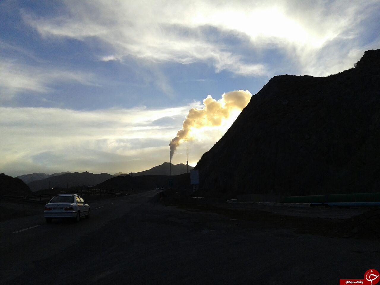 آلودگی کارخانه مس در رفسنجان + تصاویر