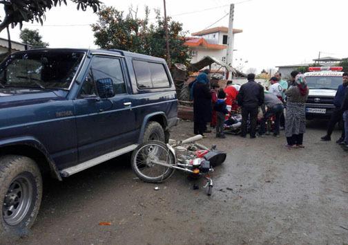 تصادف رانندگی در نوشهر و تنکابن با سه مصدوم